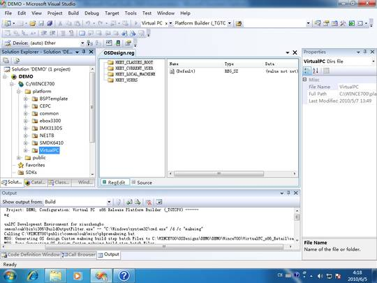 Welcome to the Visual Studio IDE