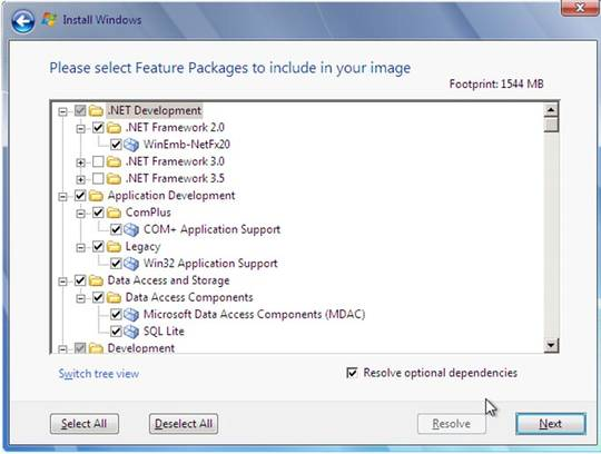 Windows Embedded Standard 7 Image Based Wizard-3